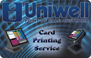 Uniwell card printing service