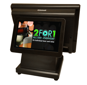 Enhance your promotional potential with an integrated rear display