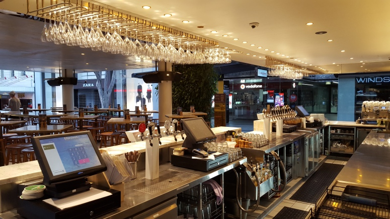 Uniwell POS Brisbane bar bistro hospitality
