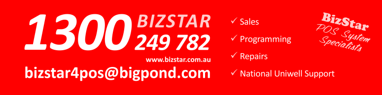 BizStar - Brisbane Uniwell POS Specialist